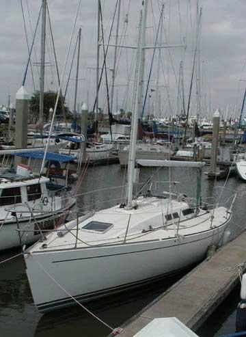 1992 Tripp 36 sailboat