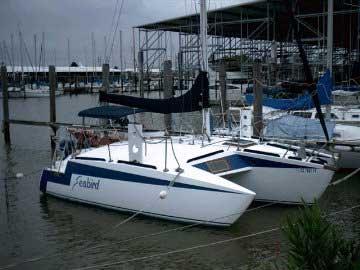 1989 Tri-Star 27 Trimaran sailboat