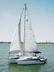 1989 Tri-Star 27 Trimaran sailboat