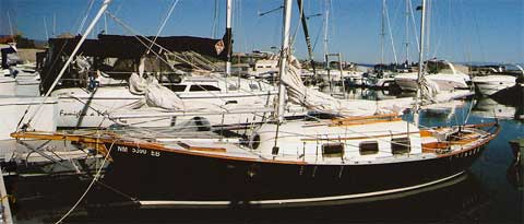 Trump 25', 1974 sailboat