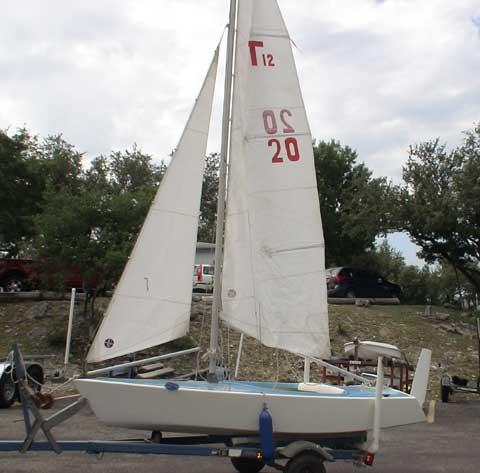 Twichell 12 #20 sailboat
