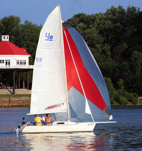 Ultimate 20 sailboat
