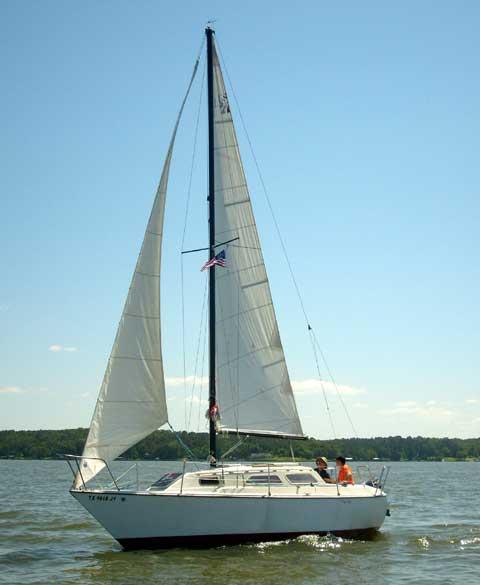 US 27 sailboat