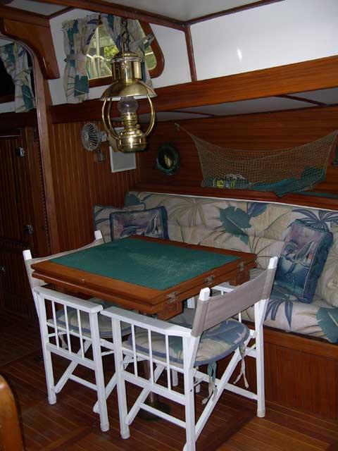 Vagabond 47 sailboat