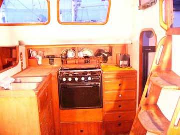 1983 Vagabond 47 sailboat