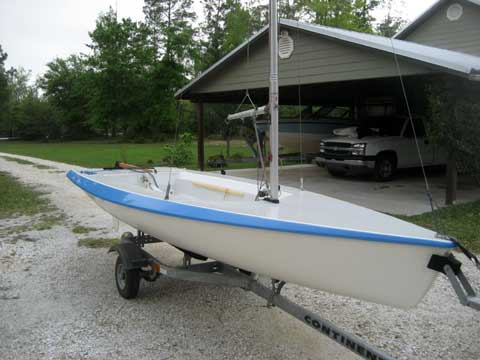 Vanguard 15 sailboat