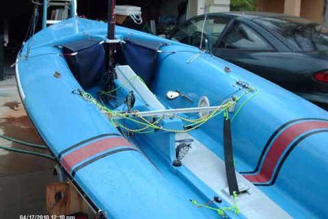 Vanguard 15.5 ft, 470 sailboat