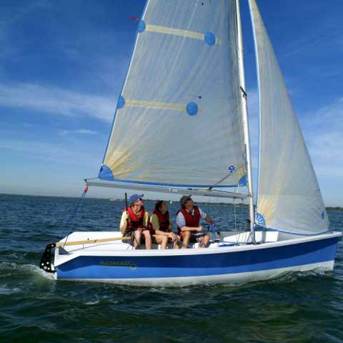 Vanguard Nomad sailboat