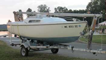 Venture 17, 1970 sailboat