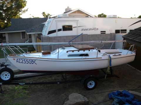 Venture 22 sailboat