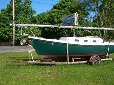 Venture of Newport 23 sailboat