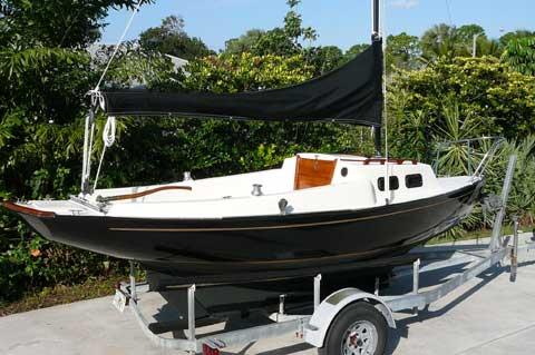 Victoria 18 sailing boat