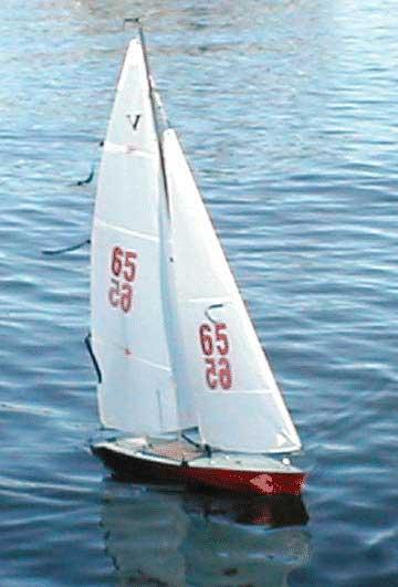 Rc+Sailboats Victoria radio controlled sailboat