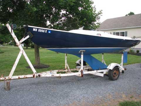 Victory 21, 1971 sailboat
