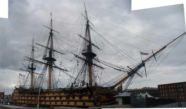 HMS Victory Masts