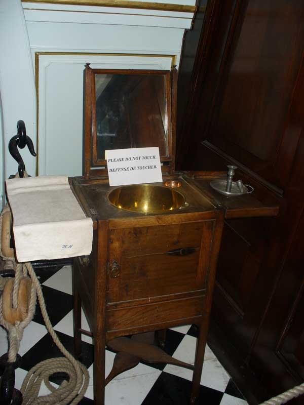 washbasin.