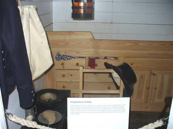 Carpenter's quarters