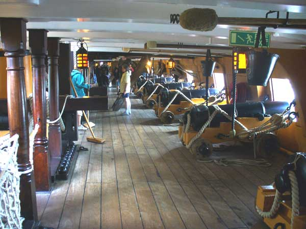 The middle gundeck