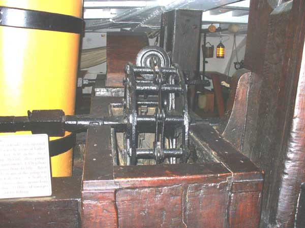 The bilge pump