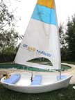 2001 Walker Bay 10 dinghy sailboat