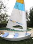 Walker Bay dinghy sailboats