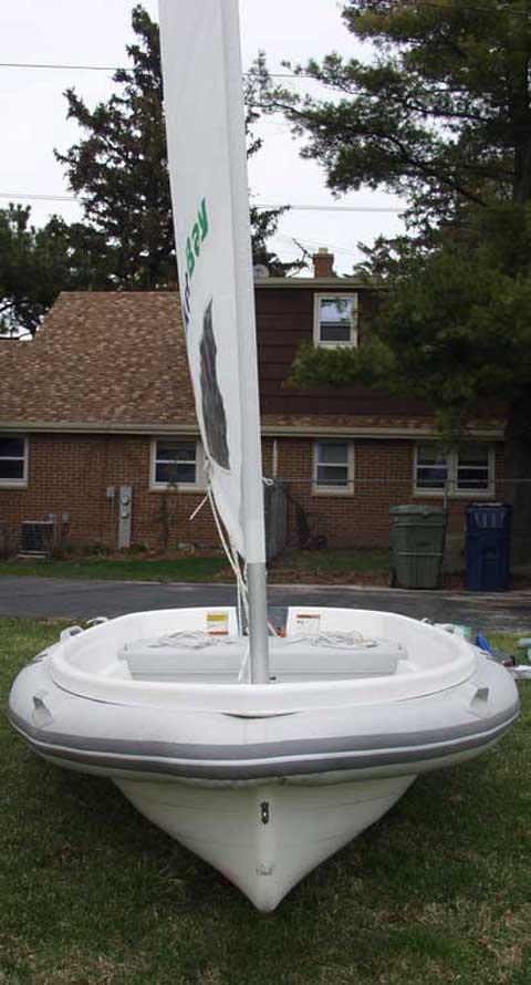 Walker Bay 10 Rigid Inflatable Sailboat