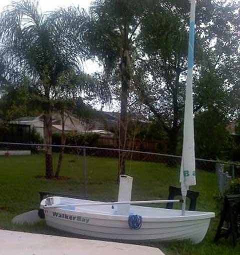 Walker Bay 8', 2008 sailboat