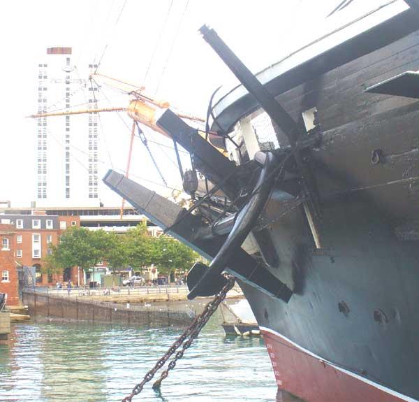 Anchor of the HMS Warrior