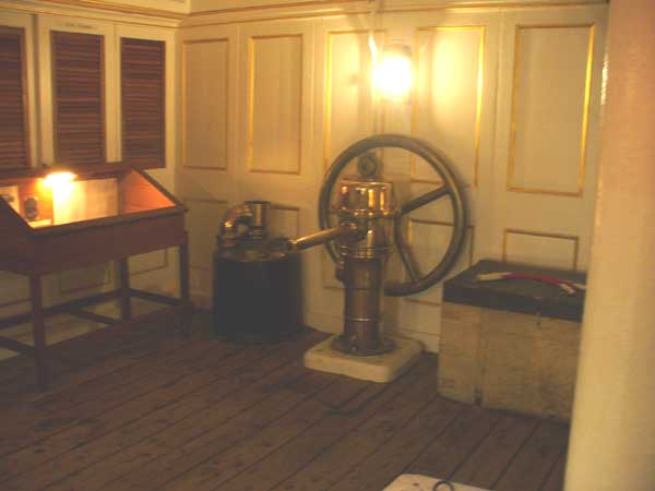 Cabins of the HMS Warrior