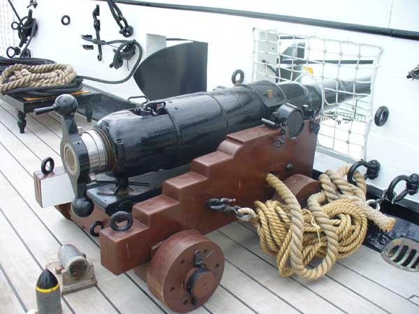 side deck gun