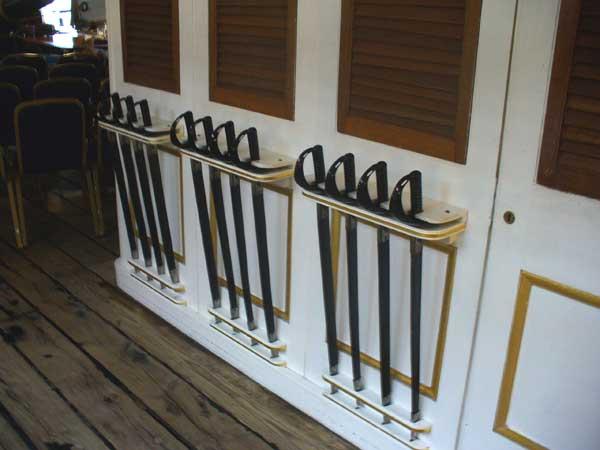 Sword rack