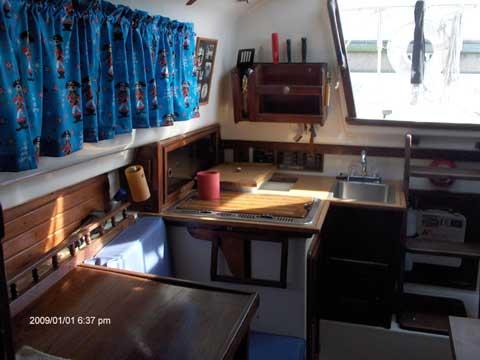 Watkins 25 sailboat