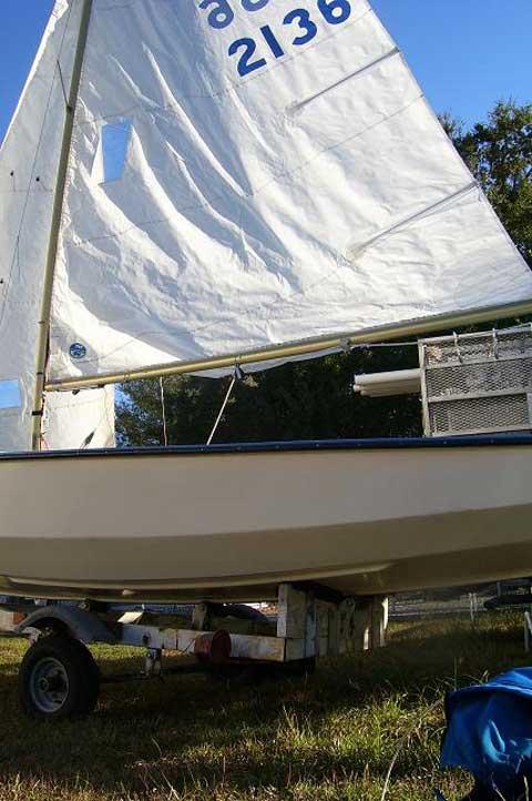 Wayfarer 16 sailboat