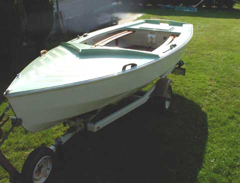Wayfarer 16, 1969/70 sailboat