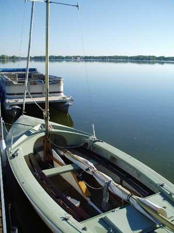 13 06  1968 Wayfarer 16  Walled Lake  Michigan  about 45 miles