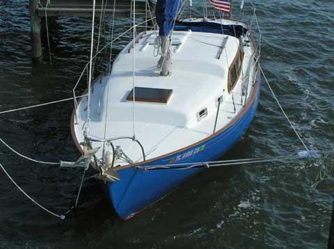 Stanchions For Sale >> Wayfarer Islander 32, 1965, New Smyrna Beach, Florida ...