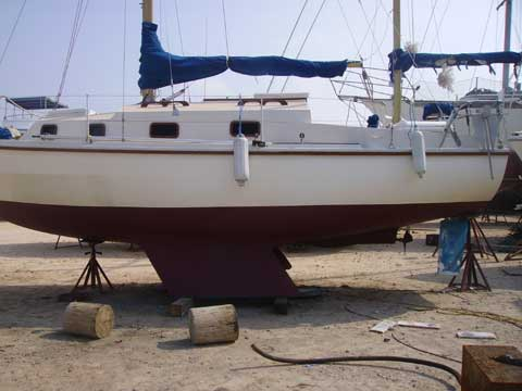 Westerly Centaur ketch 27 sailboat for sale