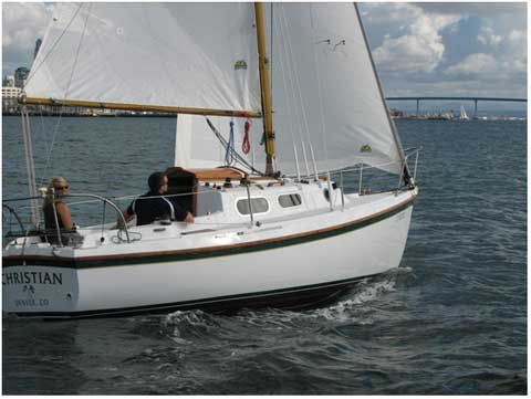 Westerly Cirrus, 22ft., 1969 sailboat