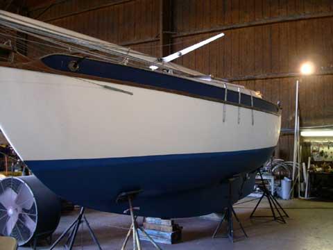 Westsail 28 sailboat