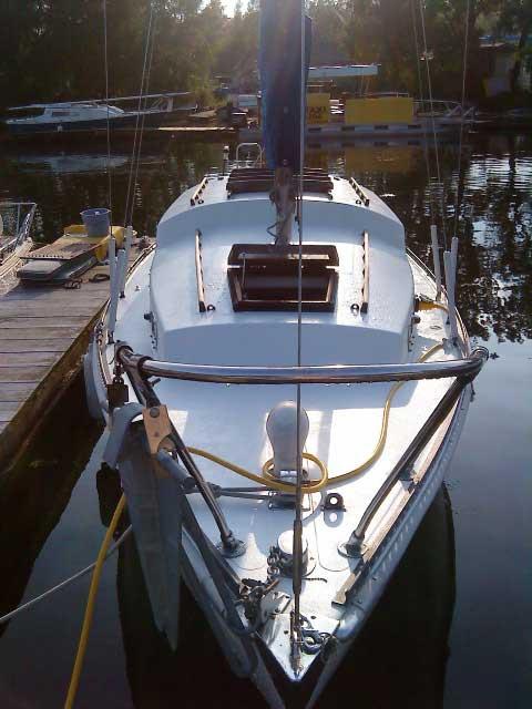 Whitby Continental Folkboat 25 sailboat