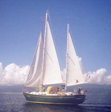 1972 Whitby 42 sailboat