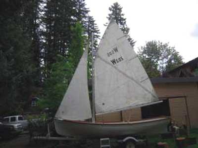 Whitehall 17', Gaff Rig Sloop, 1980 sailboat