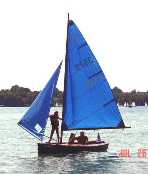 Windmill sailboat