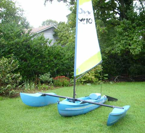 Windrider 10 sailboat