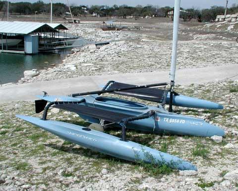 Windrider 16 trimaransailboat