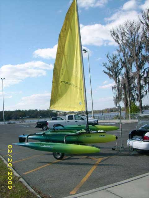 Windrider 16 sailboat