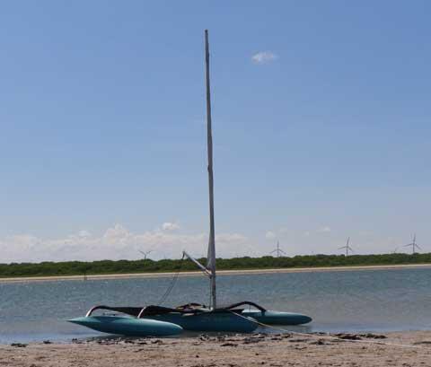 Windrider 16, 1998 sailboat