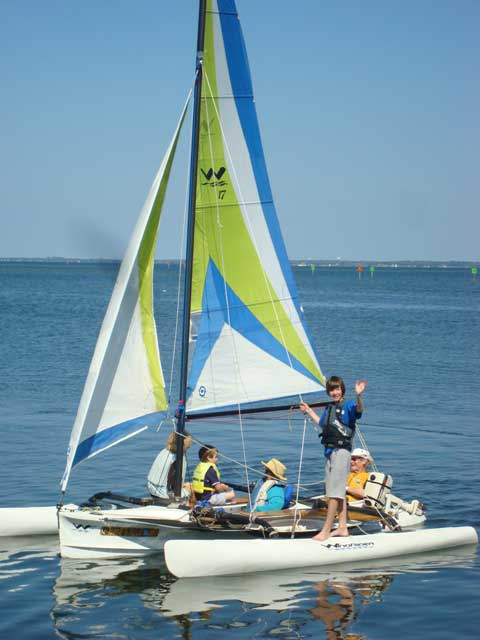 Windrider 17 sailboat