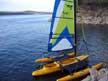 2003 Windrider 17 sailboat