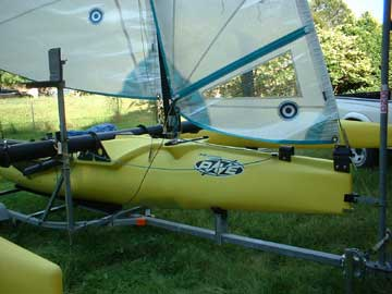 1999 Windrider Rave sailboat